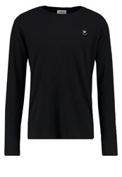 Wood Wood Peter Long Sleeved Top Black