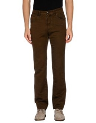 Fay Denim Pants Dark Brown