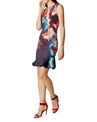 Karen Millen Floral Print Dress Multi