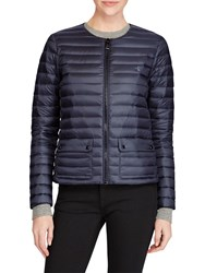 Ralph Lauren Polo Quilted Puffer Down Jacket Navy