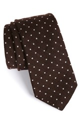 Men's Todd Snyder White Label Dot Wool And Silk Tie