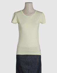 Waimea Classic Topwear Short Sleeve T Shirts Women Light Green