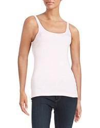 Lord And Taylor Petite Ribbed Cotton Tank Fairy Tale