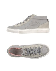 Alberto Guardiani Guardiani Sport Footwear High Tops And Trainers Men Grey