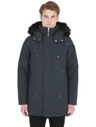 Moose Knuckles Stirling Down Jacket Parka W Fur Trim