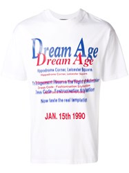 Martine Rose Dream Age T Shirt White