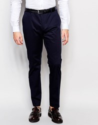 Selected Homme Slim Suit Pants Navy
