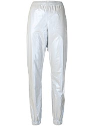 Misbhv Elasticated Waist Trousers Metallic