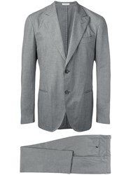 Boglioli Two Piece Suit Grey