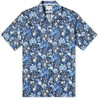 Norse Projects Carsten Liberty Print Vacation Shirt Blue