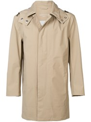 Mackintosh Hooded Trench Coat Neutrals