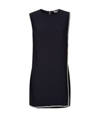 Ted Baker Burford Double Layer Embellished Tunic Black