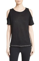 Derek Lam Women's 10 Crosby Cold Shoulder Tee