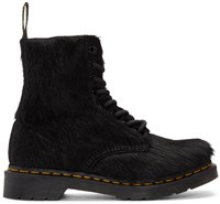 Dr. Martens Black Horse Hair 1460 Pascal Boots