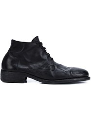 Guidi Desert Boots Black