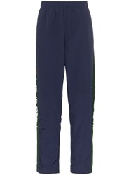 Polo Ralph Lauren Logo Stripe Track Pants Blue