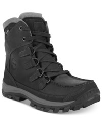 Timberland Earthkeepers Chillberg Tall Insulated Waterproof Boots Men's Shoes Black