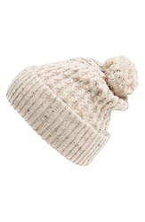 Men's Topman Nep Bobble Beanie