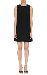 Lisa Perry Sleeveless A Line Dress Black