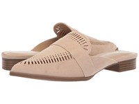 Charles By Charles David Elle Slip On Mule Nude Microsuede Slip On Shoes Beige
