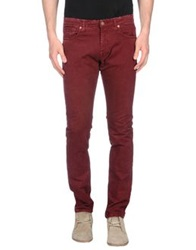 Reign Casual Pants Maroon
