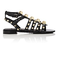 Balenciaga Women's Arena Gladiator Sandals Black