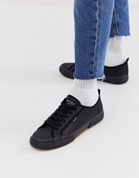 Nicce London Affleck Cup Sole Trainers In Black