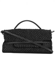 Zanellato Fold Over Closure Tote Black