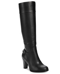 Giani Bernini Boelyn Tall Wide Calf Riding Boots Only At Macy's Women's Shoes Black