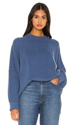 Free People Easy Street Tunic In Blue. Sky