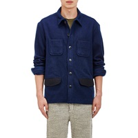 Simon Miller Melton Rowley Shirt Jacket Blue