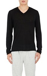 Atm Anthony Thomas Melillo Men's Cashmere Sweater Black