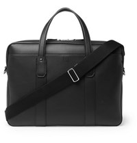 Dunhill Hampstead Leather Briefcase Black