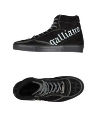 Galliano High Tops And Trainers Black