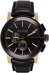 Gucci Black G Chrono Watch