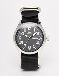 Limit Canvas Watch In Black Black