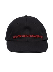 Calvin Klein 205W39nyc Embroidered Logo Hat Black