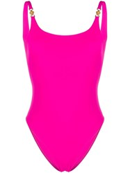 Versace One Piece Swimsuit Pink