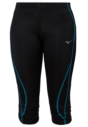 Mizuno Bg3000 Tights Black Caribbean Sea