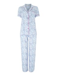Cyberjammies Elsie Animal Spot Print Pyjama Set Purple