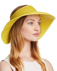 San Diego Hat Company Packable Visor Yellow
