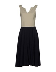 Kilian Kerner Senses Knee Length Dresses Dark Blue