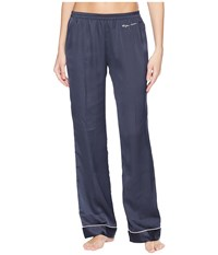 Emporio Armani Pajama Couture Loose Fit Pants Night Blue Navy