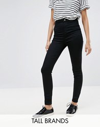 New Look Tall Highwaisted Skinny Jeans Black