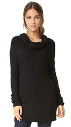 Bobi Cozy Cowl Sweater Black