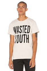 Herman Wasted Youth Sst Washed Tee Beige