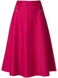 Golden Goose Deluxe Brand Ambra Skirt Pink And Purple