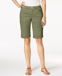 Styleandco. Style And Co. Cargo Shorts Only At Macy's Olive Sprig