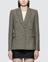 Helmut Lang Double Breasted Blazer Grey