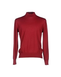 Gran Sasso Turtlenecks Garnet